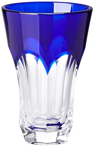 Cristal de Sévres Vaso de Vodka Azul Cobalto chenonceaux