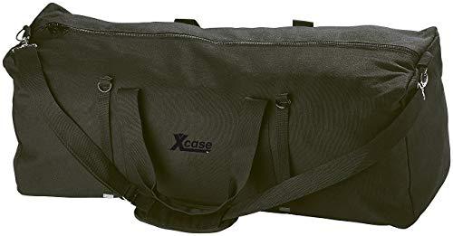 Xcase Jumbo Tasche XXL: Faltbare XXL-Jumbo-Canvas-Reisetasche mit Schultergurt, 105 Liter (Transporttasche XXL)
