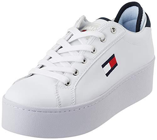 Tommy Hilfiger Damen Roxie 21a Sneaker, Weiß (RWB 0k5), 36 EU