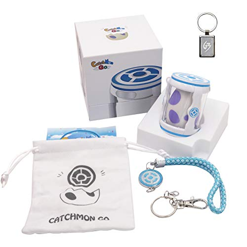 Megacom Pocket Catchmon Go for Pokemon Go Auto-Hatch Eggs Auto Catching Collecting Items with Keychain