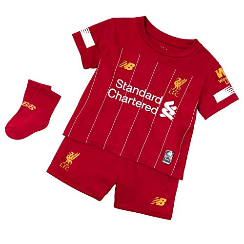 New Balance Kinder Liverpool FC 2019/20 Home Infant KIT Set, 6-7 Jahre
