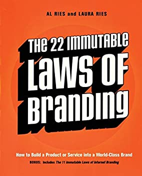 Paperback The 22 Immutable Laws of Branding Book
