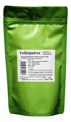 Volleipulver - sprühgetrocknet, pasteurisiert, aus Bodenhaltung aus Vollei (500g)