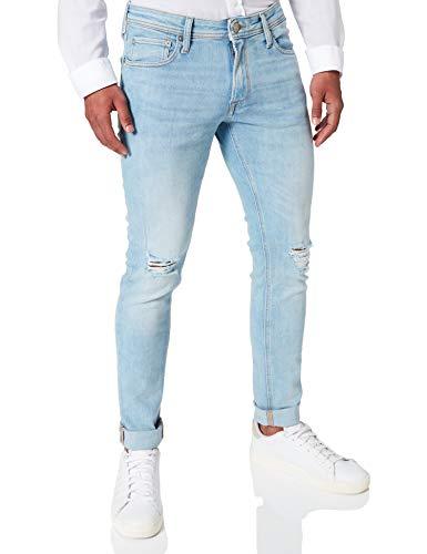 Jack & Jones JJILIAM Jjoriginal AM 250 50SPS Jeans, Bleu Denim, 33W x 32L Homme