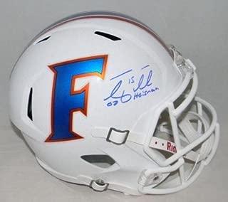 tim tebow signed helmet