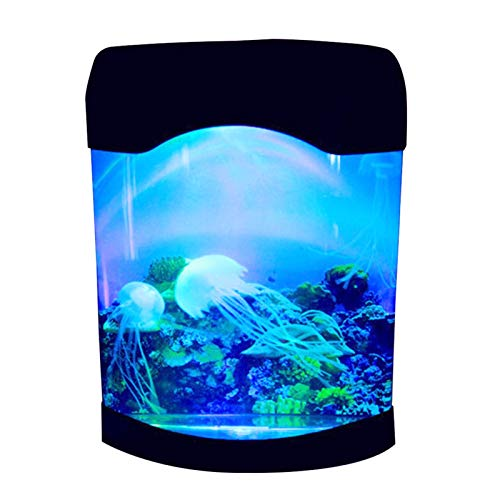 lifebea Filtro Profesional Acuario Fish Tank Medusas Lámpara Artificial Decoración Cambio de...