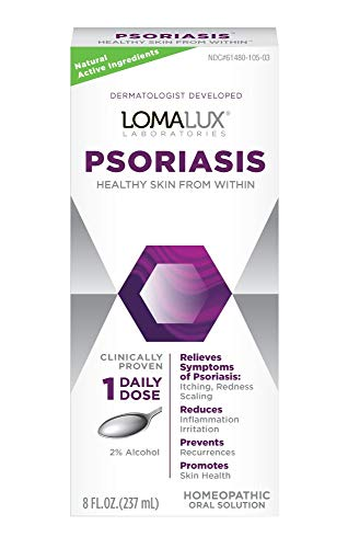 Loma Lux Psoriasis Clinically Proven Skin Clearing Minerals Dermatologist Developed 8 Fl Oz