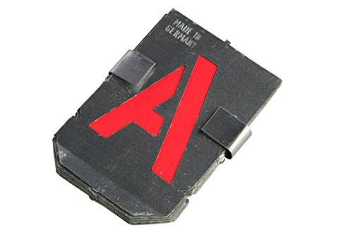 Bonum 936837 Signierschablonen, Buchstaben-Set groß, A-Z, 40 mm