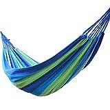 Hamaca Individual portátil para Acampar, jardín, Playa, Viaje, Hamaca, Hamaca portátil al Aire Libre