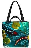 VOID Goldfisch See Teich Tasche 33x33x14cm,15l Einkaufs-Beutel Shopper Einkaufs-Tasche Bag