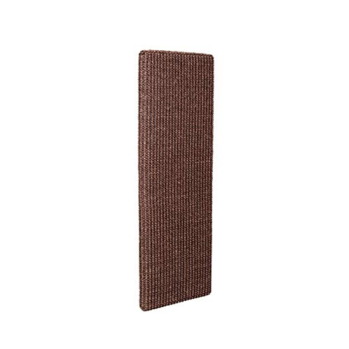 'Attach 'n' Scratch' Damage-Free Wall & Surface-Scratcher Cat Scratching Post (Brown)