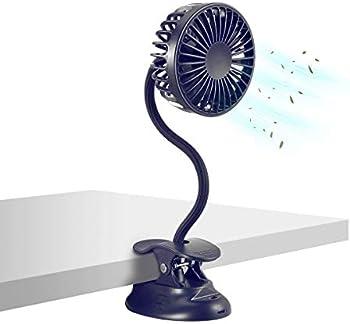 Glovion Battery Operated Desk Fan with Emergency Power Bank