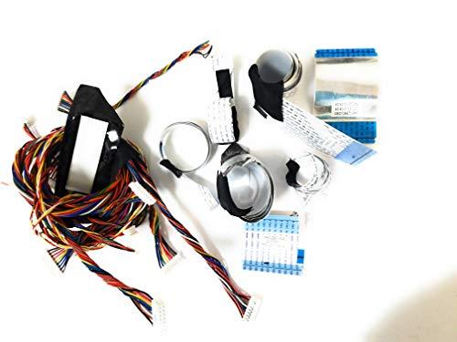 XVT3D554SV LVDS and Ribbon Cables # AWM 20706_ E97252_K / 0460_ 2880_ 0031/0063/ 0040 Compatible for Original VIZIO XVT3D554SV