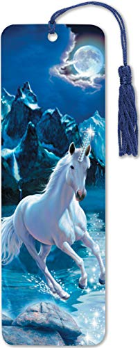 BKMK-UNICORN 3-D BOOKMARK