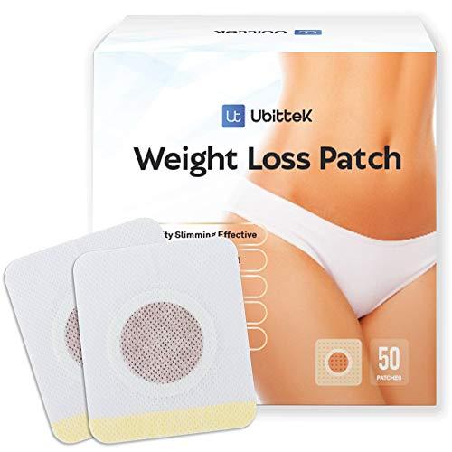 Ubittek Weight Loss Sticker, Fat Burning Abdominal Fat Away Sticker Magnets, for Beer Belly, Buckets Waist, Waist Abdominal Fat, Quick Slimming 50