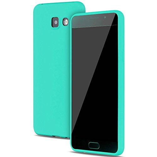 Funda Samsung Galaxy A5 2016 Carcasas Gel TPU Silicona Flexible Candy Colors Ultra Delgado Ligero Goma Case Cover Caja Suave Gel Shock Absorción Anti Rasguños Anti Choque Bumper Protectora Funda