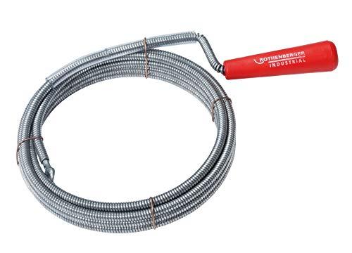 ROTHENBERGER Industrial Reinigungsspirale mit Kralle, Länge 3 m, Ø 6 mm - 1500000139