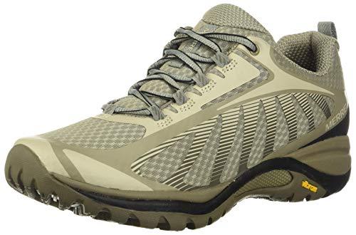 Merrell womens Siren Edge 3 Hiking Shoe, Aluminum/Boulder, 9 US