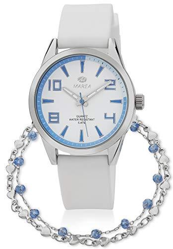 Reloj Marea Mujer B21189/11 + Pulsera de Plata