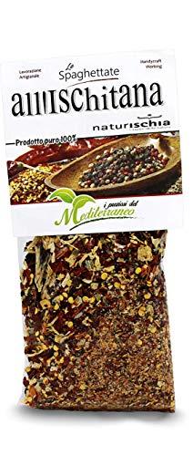Naturischia - 3 confezioni di preparato per Spaghetti all'ischitana 100 gr. ciascuna - Prodotto tipico Ischia