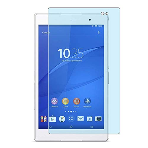 Vaxson 2 Unidades Protector de Pantalla Anti Luz Azul, compatible con Sony Xperia Z3 Tablet Compact SGP621 SGP611 SGP612 8' [No Vidrio Templado] TPU Película Protectora