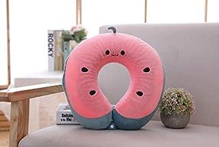 Plush Pillows - Neck Pillow Headrest Soft U Shaped Cushion Air Flight Pillows Car Nursing Cushion Travel Support Neck Rest...