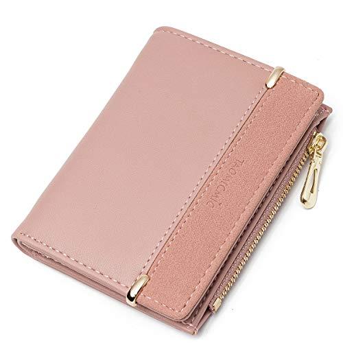 JOSEKO Geldbeutel Damen, Kleine Portemonnaie Multi Slots PU Leder Brieftasche Schlanke Kartenhalter Mini Geldbörse Für Frauen Mädchen Kinder