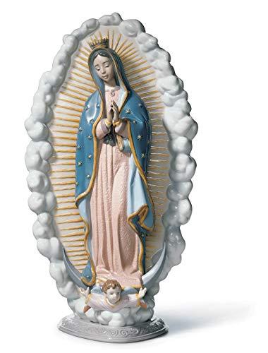 LLADRÓ Figura Virgen de Guadalupe de Porcelana