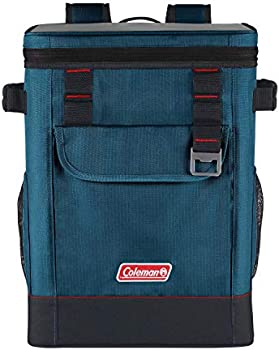 Coleman 28-Can Portable Soft Cooler Backpack (Space Blue)