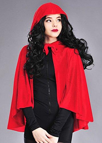 Adulte Velvet Red Riding Hood Cap