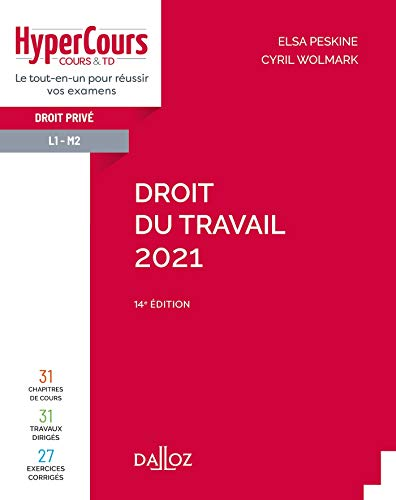 Droit du travail 2021 - 14e ed.