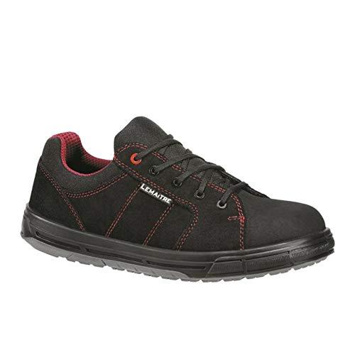Lemaitre STARS30NR Star S3 Bas Noir - Zapatos de Seguridad (Talla 43), Color Negro