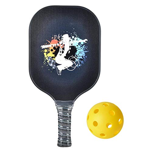 VGEBY Pickleball Paddle, Fibra de Carbono Pickleball Paddle Ball Game Pickleball Racket Training Equipo Deportivo
