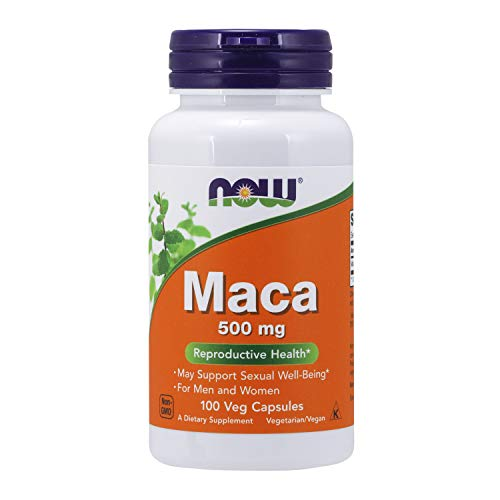 Now Foods Maca 500mg Standard - 100 Cápsulas