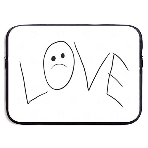 Laptop Sleeve Bag for 15 inch Notebook Computer Protective Case Cover LIL PEEP Soft Carrying Protector Handbag