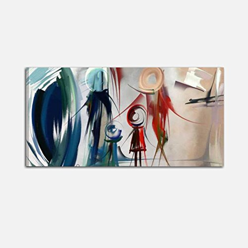 I Colori del Caribe Quadri Astratti Dipinti A Mano Olio su Tela Quadro Astratto per Salone Soggiorno Ufficio RAPPRESENTAZIONE della Famiglia Alta QUALITA' Made in Italy - Family