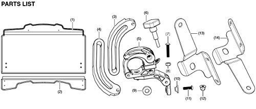 2014-2021 Genuine Honda Pioneer 700 2P 4P 2-Piece Hard Coat Poly Windshield 0SR72-HL3-A00