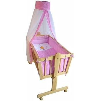 « Honey Bee » – Berceau bébé complet - lit bébé - lit de salon - rose - 51365-03