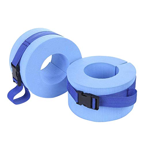 Schwimmen Wasser Manschette,Cyeer Wasser Aerobic Schweben Ring Fitness Übungsset Schwimmen Fitness Ausbildung Set 2PC