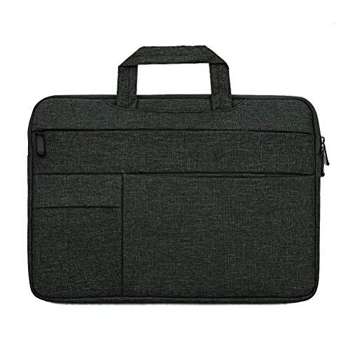 Laptop Sleeve Case Bag 15.6 Inch Work Business Briefcase Waterproof Slim Laptop Bag for Men Women Laptop Bag Case Handler Carrying Protective Laptop Cases for Notebook Computer Ultrabook MacBook Black
