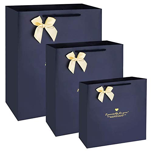 hi桜の花 3枚セット ギフトバッグ プレゼント用 ラッピング袋 紙袋 手提げ袋 ギフト ラッピング プレゼント 誕生日 結婚式 ギフト包装 バレンタイン おしゃれ リサイクル可能 手提袋 贈り物 3サイズ