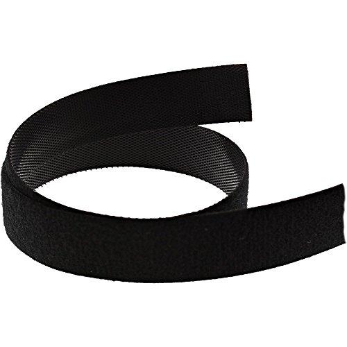 InLine 59934S kabelbinder klittenband 16 mm, 10 m zwart