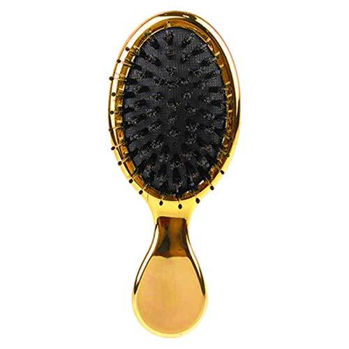 SNOWINSPRING Brosse à Cheveux PoignéE de Massage Peigne Anti-Statique Cheveux Cuir Chevelu Paddle Brosses Barbier Cheveux Brosse Styling Outil