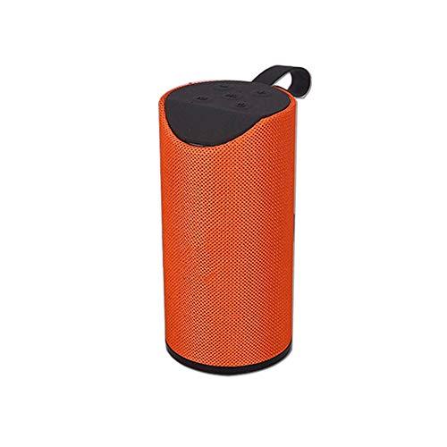 LG Snow 3D estéreo bajo la música Cuadro Naranja Altavoces al Aire Libre Altavoces Bluetooth inalámbrica con un Anillo de columnas portátiles soportan FM TFCard