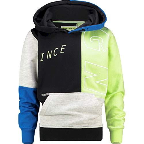 Vingino Jungen Sweatshirt Pullover Kapuze MACE deep Black (164)