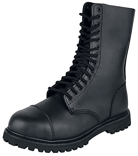Brandit Herren Phantom Boots 14 Eye, Color:schwarz;Größe:9