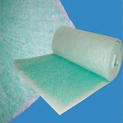 EsportsMJJ 10pcs 50 * 50 * 5cm pintura spray cabina filtro de escape rollo de fibra de vidrio MAT