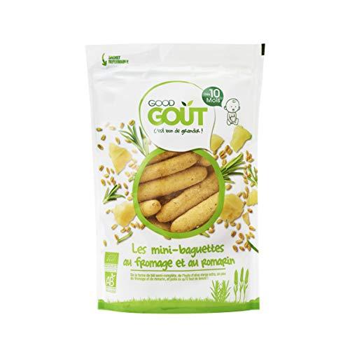 Good Goût - BIO - Mini Baguettes Fromage romarin Dès 10 Mois 70g