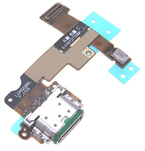 PHONSUN USB Port Charging Flex Cable Replacement with Microphone for LG G6
