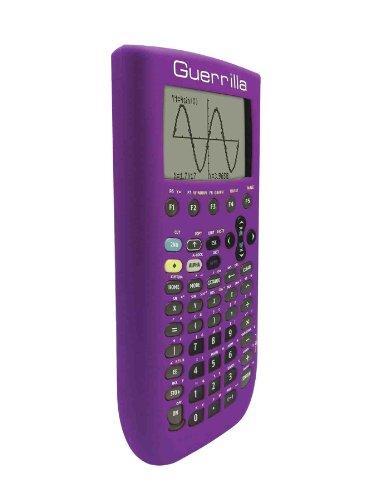 Guerrilla Silicone Case for Texas Instruments TI-89 Titanium Graphing Calculator, Purple Photo #4